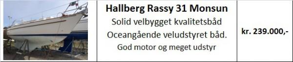 Halberg Rassy 31 Monsun