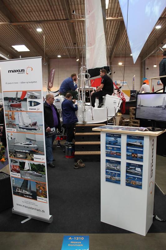 Maxus 22 udstillingsbåd Boatshow 2015 (1)