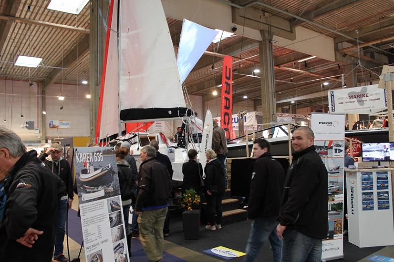 Maxus 22 udstillingsbåd Boatshow 2015 (5)