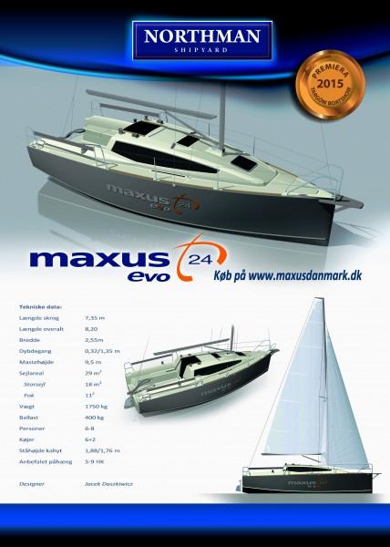 Maxus 24 EVO - tekniske data.