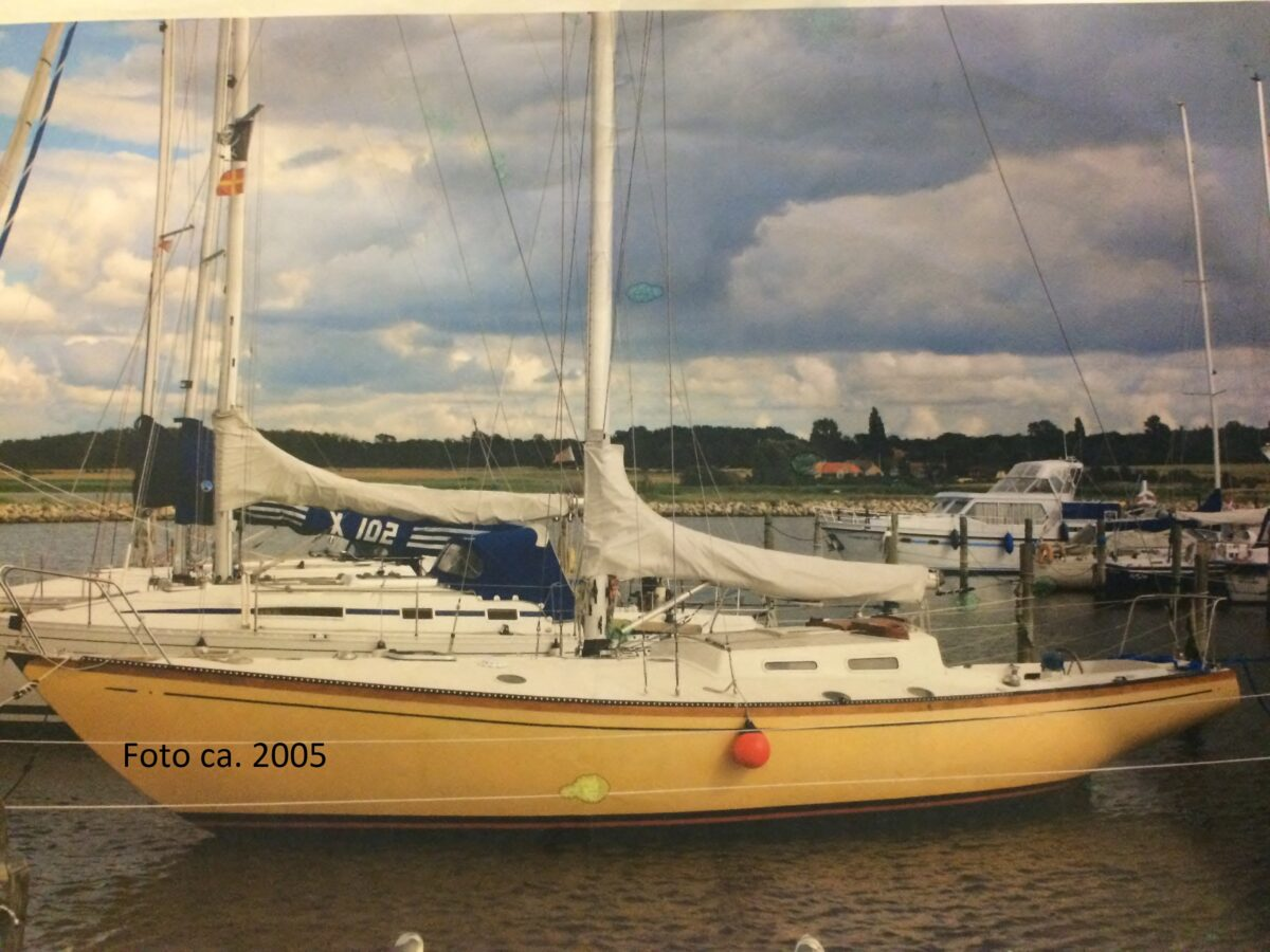 Gammel foto af båden ca årgan 2005
