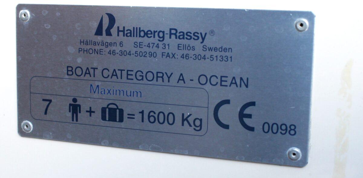 Hallberg Rassy HR 31 til salg.  (49)