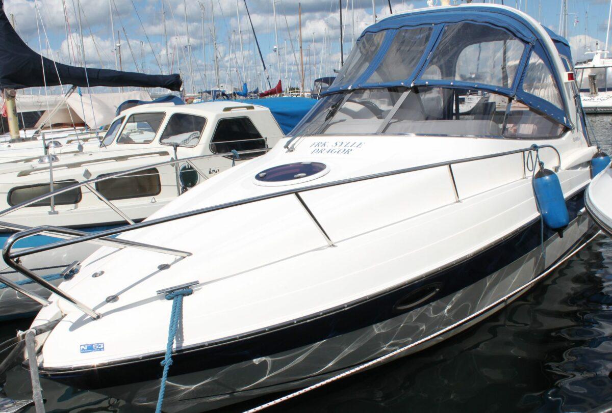 Bavaria moorbåd 25 fod