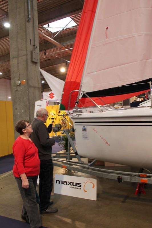 Maxus 22 udstillingsbåd Boatshow 2015 (3)