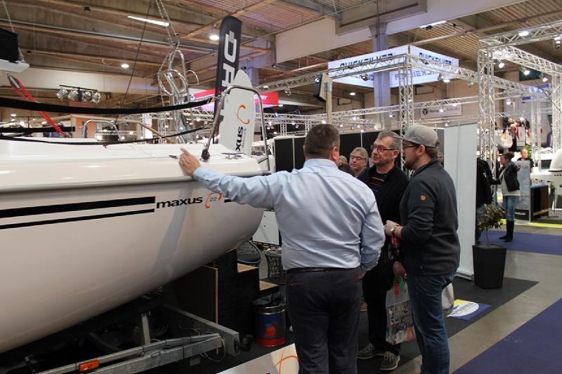 Maxus 22 udstillingsbåd Boatshow 2015 (4)