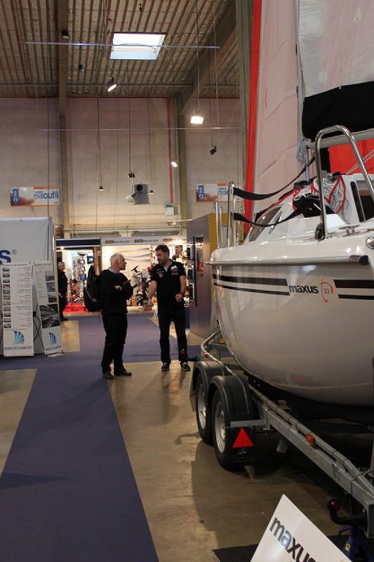 Maxus 22 udstillingsbåd Boatshow 2015 (9)