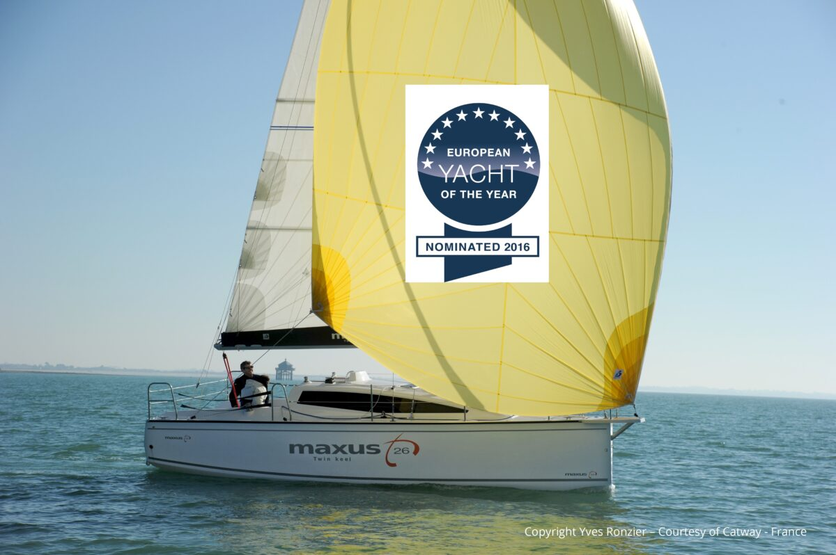 Maxus 26 nominated yacht of the year 2016
