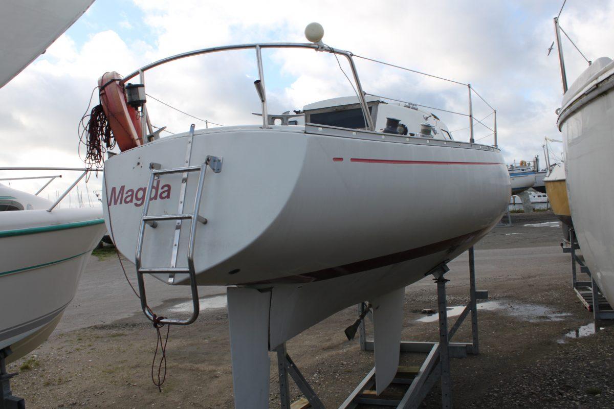 Billig 26 fods sejlbåd Albin Accent