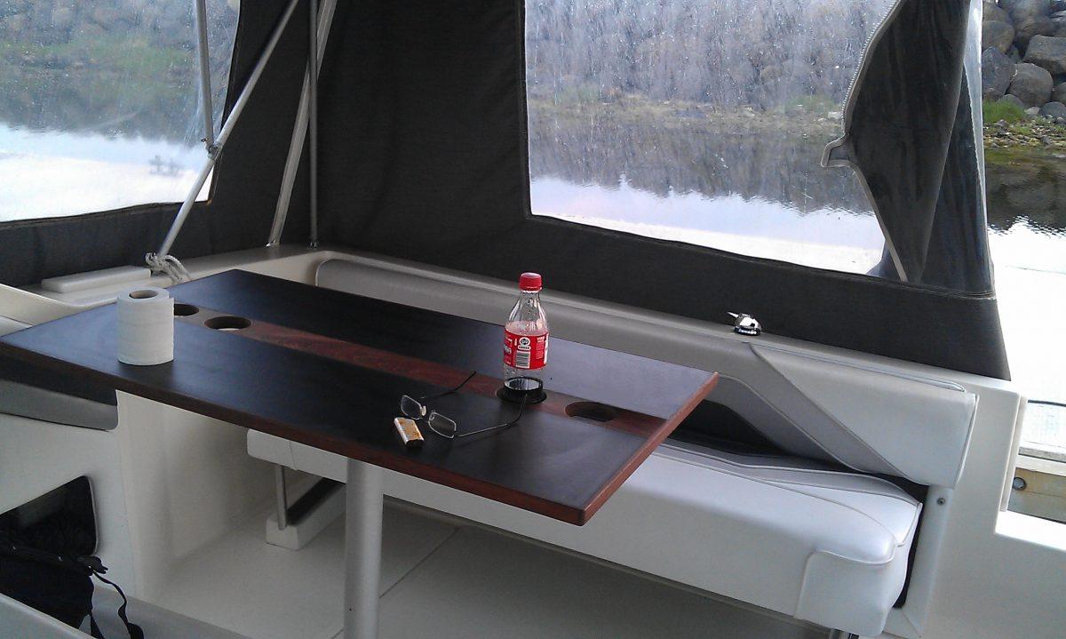 Sea ray 220 cockpit